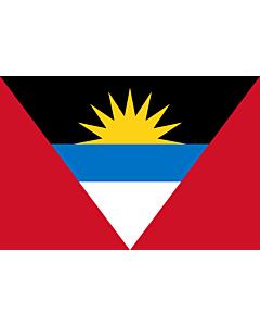 Fahne: Flagge: Antigua und Barbuda