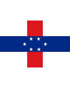 Fahne: Flagge: Niederländische Antillen