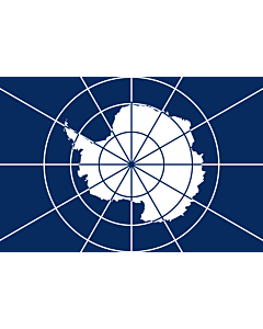 Fahne: Flagge: Antarctic Treaty | Tratado Antártico