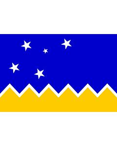 Fahne: Flagge: Magallanes, Chile | Magallanes and Chilean Antarctica Region, Chile | XII Región de Magallanes y de la Antártica Chilena