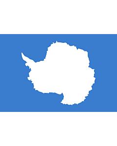 Fahne: Flagge: Antarktis