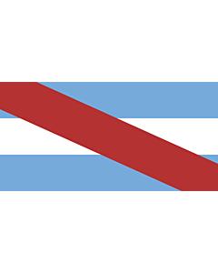 Fahne: Flagge: Entre Ríos (Provinz)