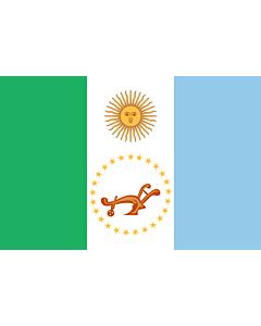 Fahne: Flagge: Chaco (Provinz)