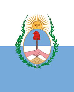 Fahne: Flagge: Mendoza (Provinz)