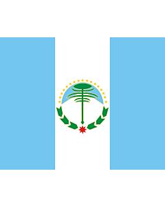 Fahne: Flagge: Neuquén (Provinz)