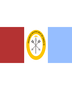 Fahne: Flagge: Santa Fe (Provinz)