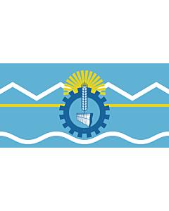 Fahne: Flagge: Chubut (Provinz)