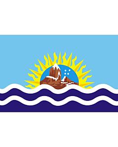 Fahne: Flagge: Santa Cruz (Provinz)