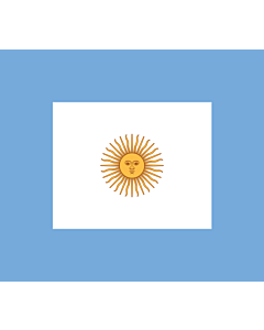Fahne: Flagge: Naval Jack of Argentina