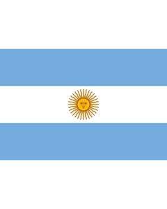Fahne: Flagge: Argentinien