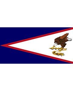 Fahne: Flagge: Amerikanisch-Samoa