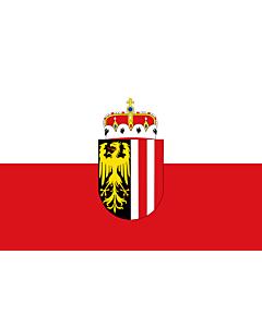 Fahne: Flagge: Oberösterreich
