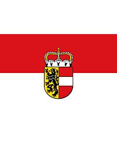 Fahne: Flagge: Salzburg