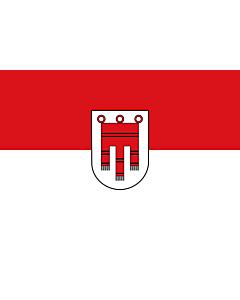 Fahne: Flagge: Vorarlberg