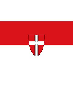 Fahne: Flagge: Wien