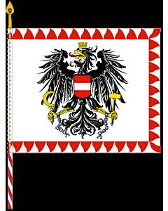 Fahne: Flagge: Feldzeichen Bundesheer