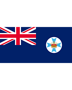Fahne: Flagge: Queensland