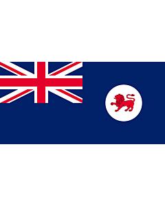Fahne: Flagge: Tasmanien