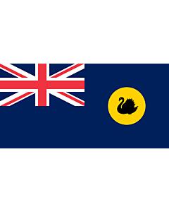 Fahne: Flagge: Westaustralien