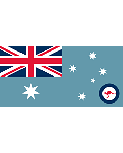 Fahne: Flagge: Ensign of the Royal Australian Air Force