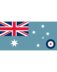 Fahne: Flagge: Ensign of the Royal Australian Air Force 1948-1982