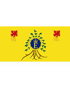 Fahne: Flagge: Royal Standard of Barbados | Queen Elizabeth II s personal flag for use in Barbados
