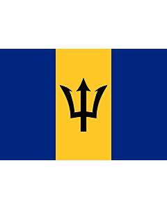 Fahne: Flagge: Barbados