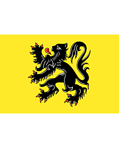 Fahne: Flagge: FlämischeRegion