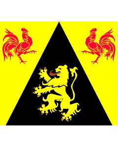 Fahne: Flagge: WallonienBrabant
