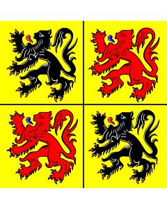 Fahne: Flagge: Hennegau