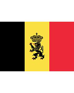 Fahne: Flagge: Belgien