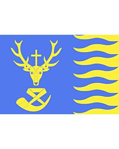 Fahne: Flagge: Saint-Hubert, Belgium | Saint-Hubert  Belgique | Vlagge van Saint-Hubert