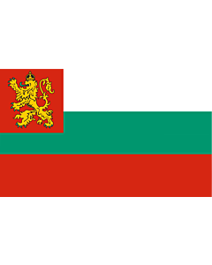 Fahne: Flagge: Naval Ensign of Bulgaria 1878-1944