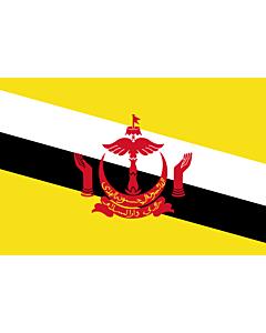 Fahne: Flagge: Brunei Darussalam