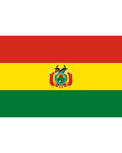 Fahne: Flagge: Bolivien