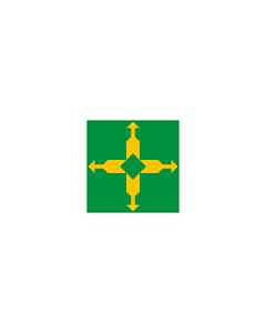Fahne: Flagge: Distrito Federal