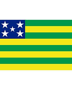 Fahne: Flagge: Goiás