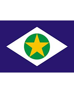 Fahne: Flagge: Mato Grosso