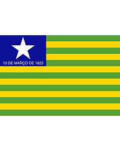 Fahne: Flagge: Piauí