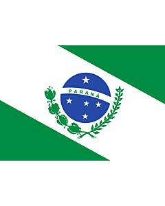 Fahne: Flagge: Paraná