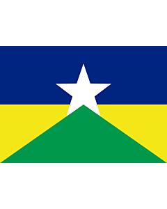 Fahne: Flagge: Rondônia