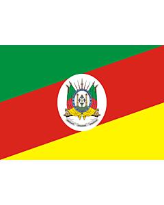 Fahne: Flagge: Rio Grande do Sul