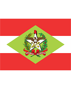 Fahne: Flagge: Santa Catarina