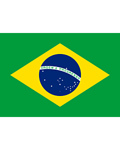 Fahne: Flagge: Brazil  1889–1960