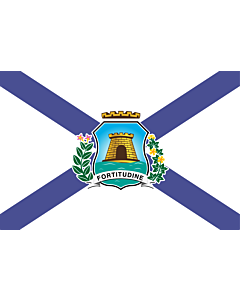 Fahne: Flagge: Fortaleza Ceara Brasil