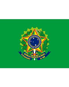 Fahne: Flagge: Presidential Standard of Brazil | Presidential Flag of Brazil