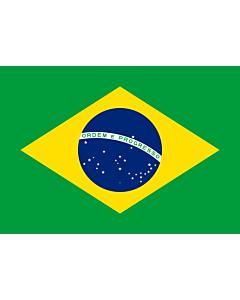 Fahne: Flagge: Brasilien