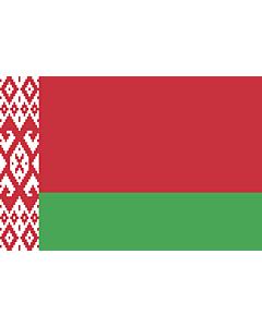Fahne: Flagge: Belarus (Weißrussland)