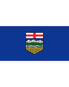 Fahne: Flagge: Alberta