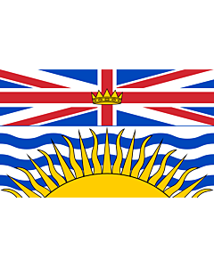 Fahne: Flagge: British Columbia